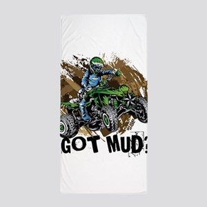 Got Mud ATV Quad Beach Towel